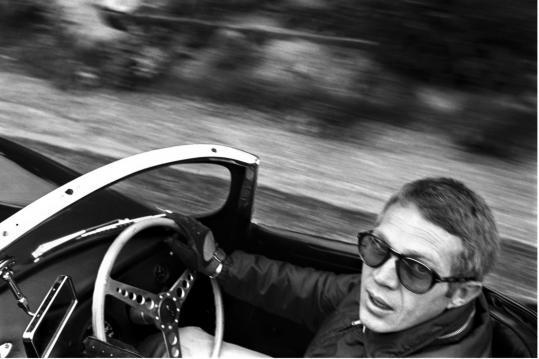 Steve McQueen e la sua Jaguar