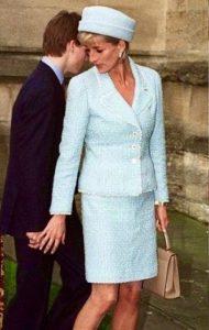 Lady Diana in Tweed