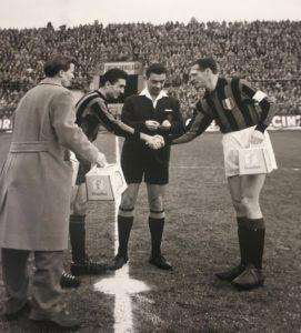 Atalanta-Milan 16 marzo 1958